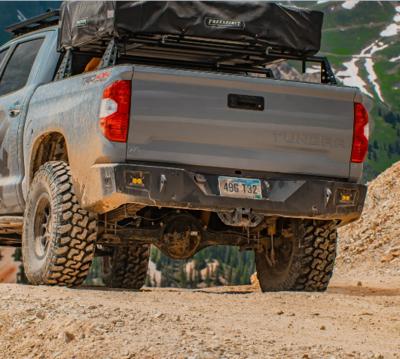 C4 - Tundra Overland Series Rear Bumper - 2014+