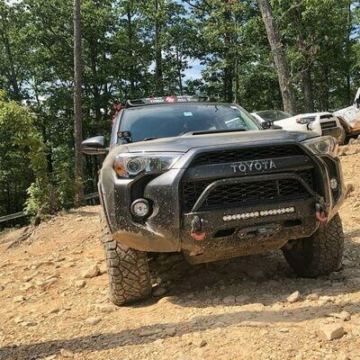 SSO - 2014+ 4Runner Slimline Hybrid front bumper – CUSTOMIZE YOUR OWN