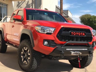 SSO - 2016+ Tacoma Slimline Hybrid front bumper – CUSTOMIZE YOUR OWN