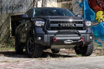 SSO - 2014+ Tundra Slimline Hybrid front bumper – CUSTOMIZE YOUR OWN