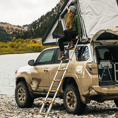 Go Fast Campers - 8' Ladder for Tents and Campers