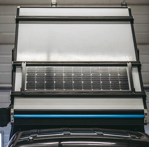 Go Fast Campers - Solar Tray