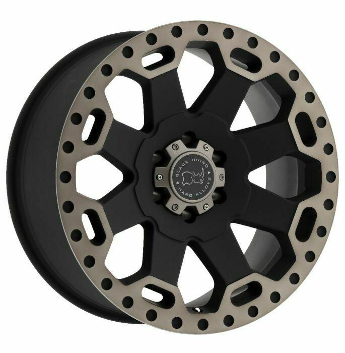 Black Rhino - Warlord Wheel