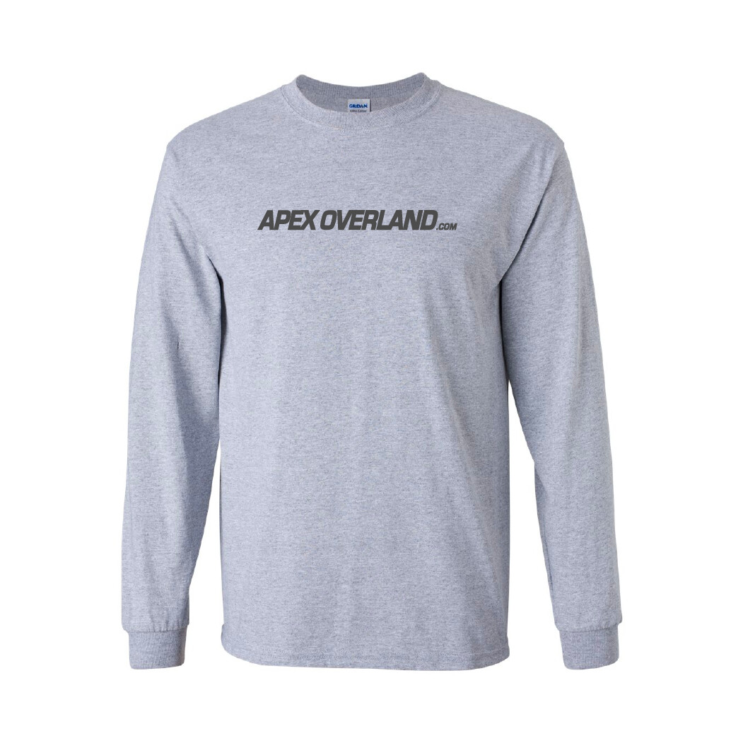 Apex Overland T-Shirt   Where to Next? (Long sleeve - Unisex Adult)