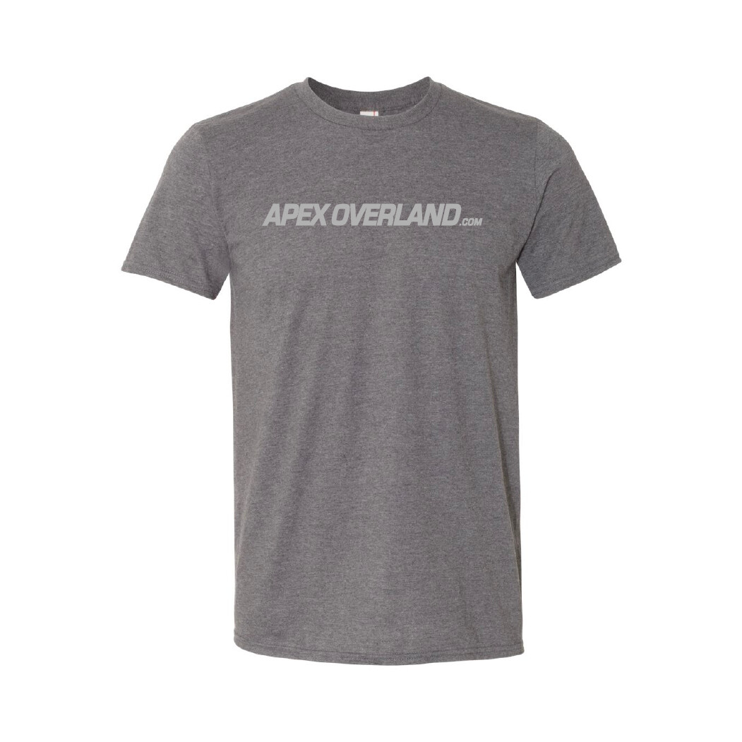 Apex Overland T-Shirt | Mountain Logo (Short sleeve - Unisex Adult)