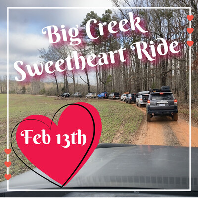 Tickets   Sweetheart Ride at Big Creek Rocks   Feb 13th 2021