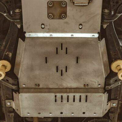 C4 - 4RUNNER REAR SKID PLATES / 5TH GEN / 2010+
