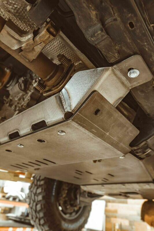 C4 Fabrication - 4RUNNER REAR SKID PLATES / 5TH GEN / 2010+