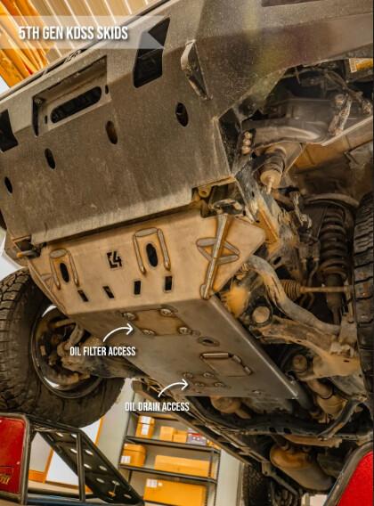 C4 - 4RUNNER FRONT SKID PLATE / 5TH GEN / 2010+