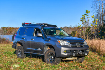 LFD Offroad - GX460 Roof Rack 7/8 Length - Stainless Steel
