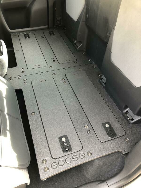 Goose Gear - TACOMA ACCESS CAB 2ND ROW SEAT DELETE FOR 3RD GENERATION WITH FACTORY SEATS