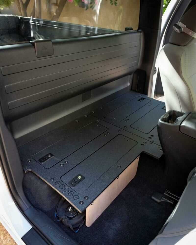 Goose Gear - TACOMA ACCESS CAB 2ND ROW SEAT DELETE FOR 3RD GENERATION WITHOUT FACTORY SEATS