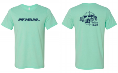 Apex Overland T-Shirt | Where to Next? NEW Summer Colors