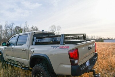 LFD Off Road - Tacoma Bed Rack 2005+ Short Height, Short Bed