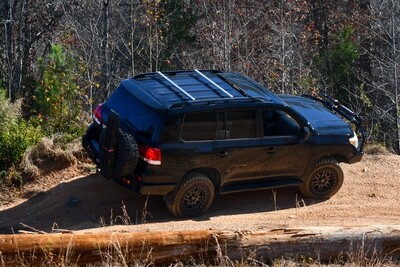LFD Offroad - Ruggedized Crossbar 200 Series - Stainless Steel with Powder Coat