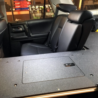 Goose Gear - TOYOTA 4RUNNER 2010-PRESENT 5TH GEN. SECOND ROW SEAT DELETE PLATE SYSTEM - MODULE HEIGHT