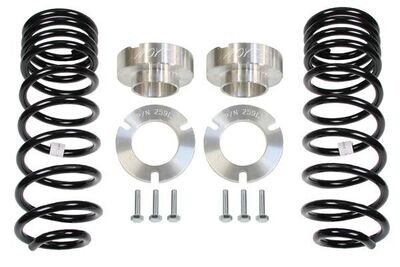 """Toytec 3"""" Lift with Spacers and Rear Coils"""