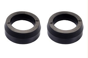 "Rear 1.5"" lift Black Spacers Poly for FJ & 4Runner"