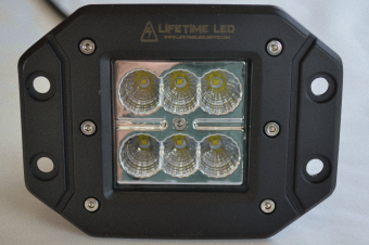 Lifetime LED - Flush Mount LED Light- 30 Watt