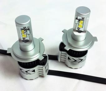 *Super Bright* H4/9003 LED Headlight Bulbs (Pair) 70W - Lifetime LED
