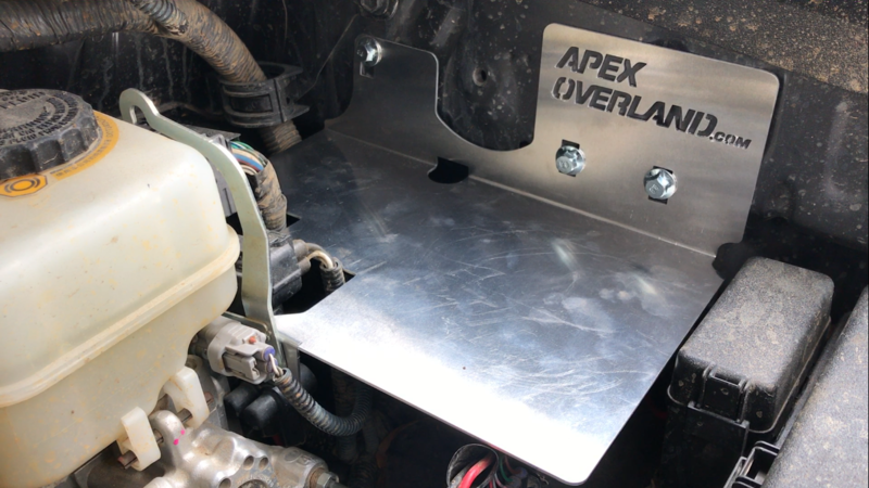 Apex Overland Electrical Mounting Plate