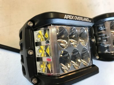 APEX OVERLAND SIDE SHOT LIGHTS  *Free Shipping*