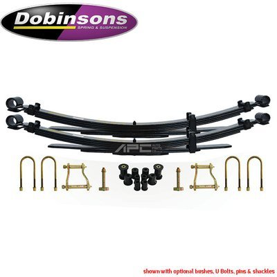 Dobinson Rear Leaf Springs- Sold in Pairs