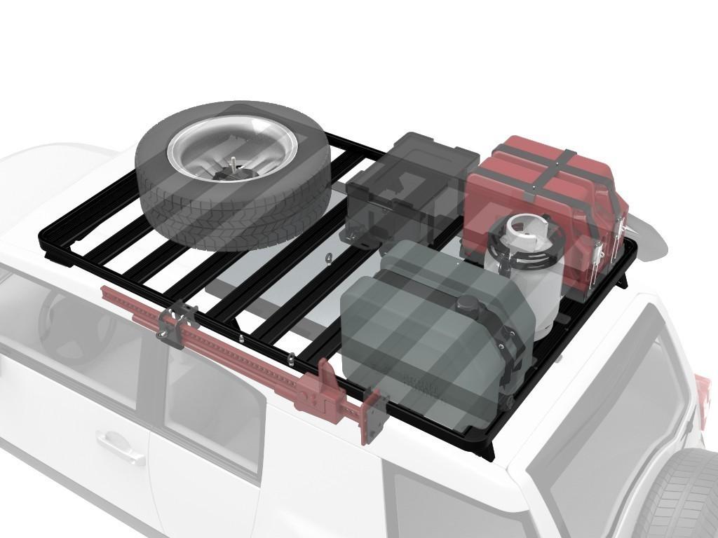 Front Runner - Toyota FJ Cruiser Roof Rack (Full Cargo Rack Foot Rail Mount) - Front Runner Slimline II