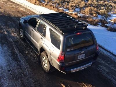 Front Runner - Toyota 4Runner Roof Rack 4th Gen (Full Cargo Rack Foot Rail Mount) - Front Runner Slimline II