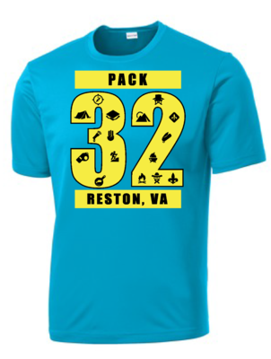 PACK 32 SHORT SLEEVE DRY FIT SHIRT
