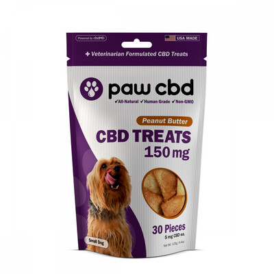 CBD Dog Treats 150MG (5MG CBD per treat)
