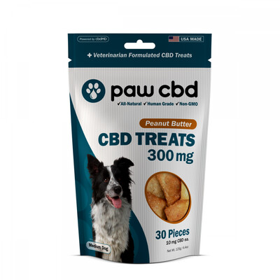 CBD Dog Treats 300MG (10MG CBD per treat)