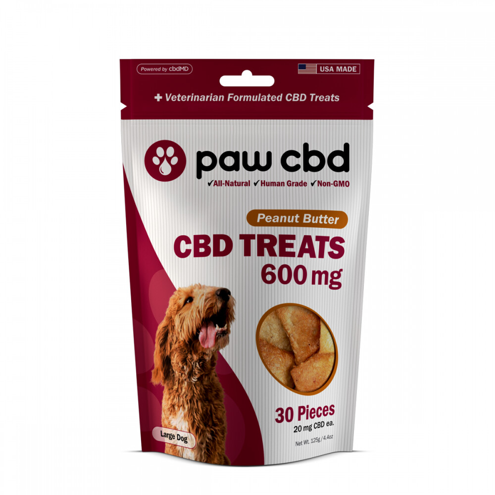 CBD Dog Treats 600MG (20MG CBD per treat)