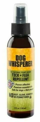YaYa Dog Whisperer Tick + Flea Repellent  4 oz