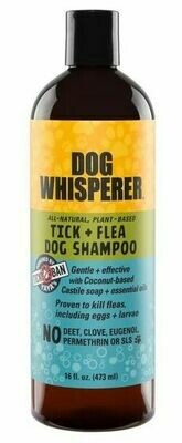 Yaya Dog Whisperer Tick + Flea Dog Shampoo 16 oz