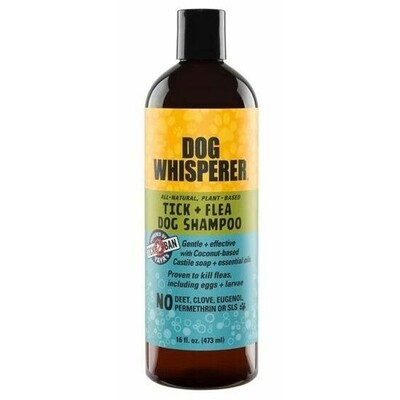 Yaya Dog Whisperer Tick + Flea Dog Shampoo 16 oz