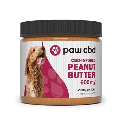 CBD-Infused Peanut Butter 600mg 16oz Jar