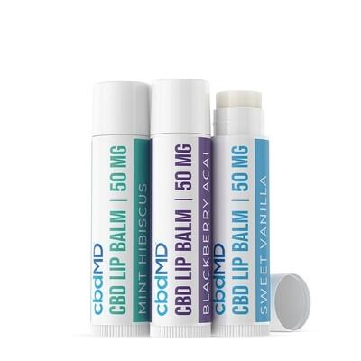 CBD Lip Balm 3 Pack