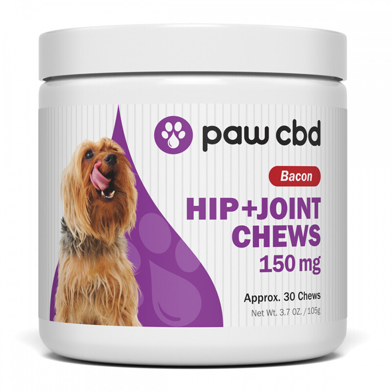 Hip & Joint Chews - 150mg - Bacon Flavor