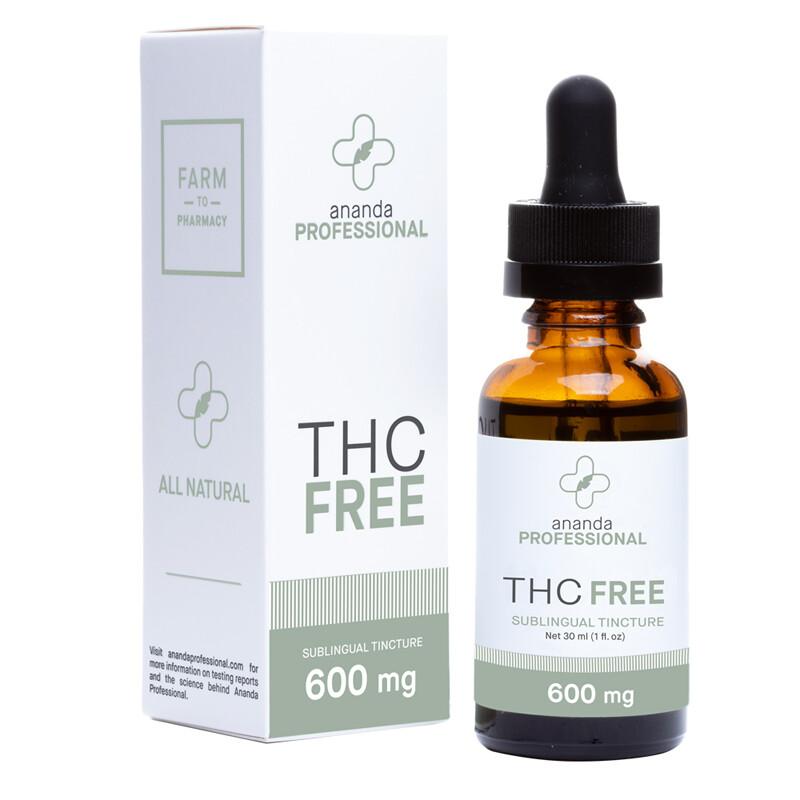 THC Free Tincture 600MG
