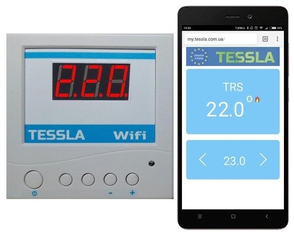 Терморегулятор TRS Wi-Fi SK