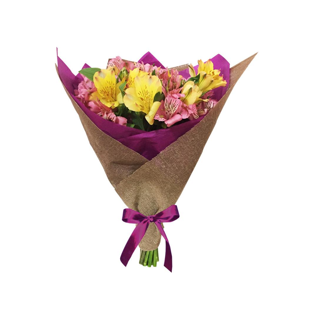 Bouquet de alstroemerias