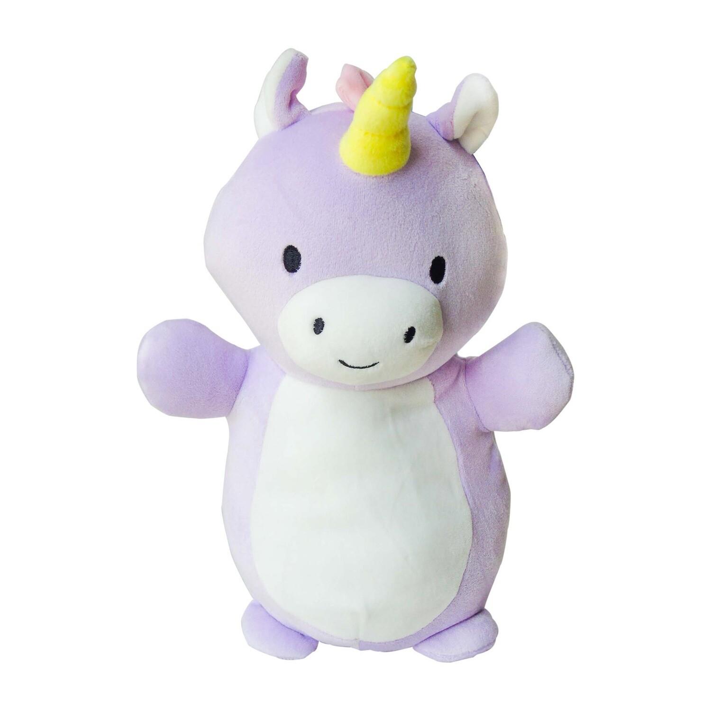 Peluche unicornio lila