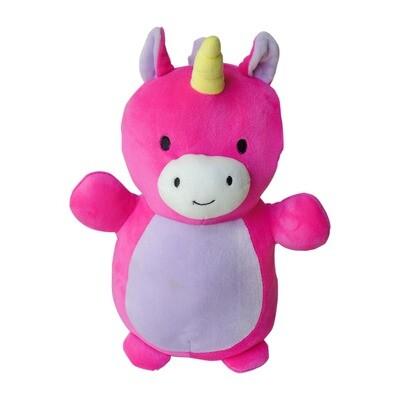 Peluche unicornio rosa