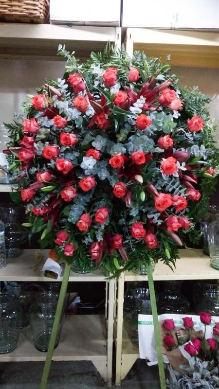 Corona con rosas