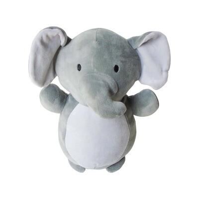 Peluche elefante gris
