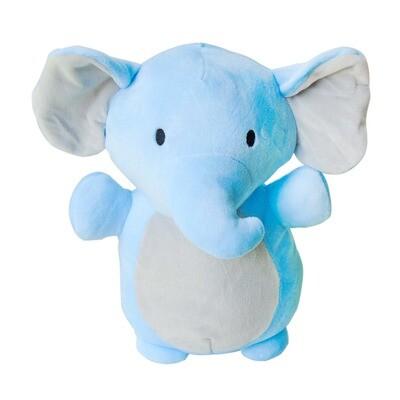 Peluche elefante celeste