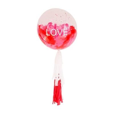 Globo burbuja LOVE