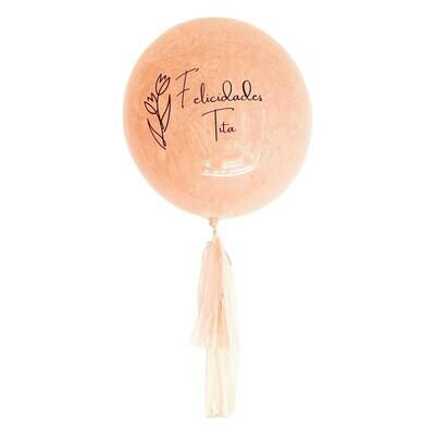 Globo burbuja pink