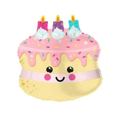 Globo pastelito ¡ feliz cumpleaños !